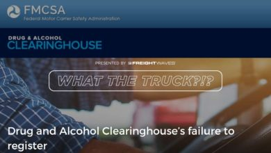 Photo of Drug and Alcohol Clearinghouse's failure to register