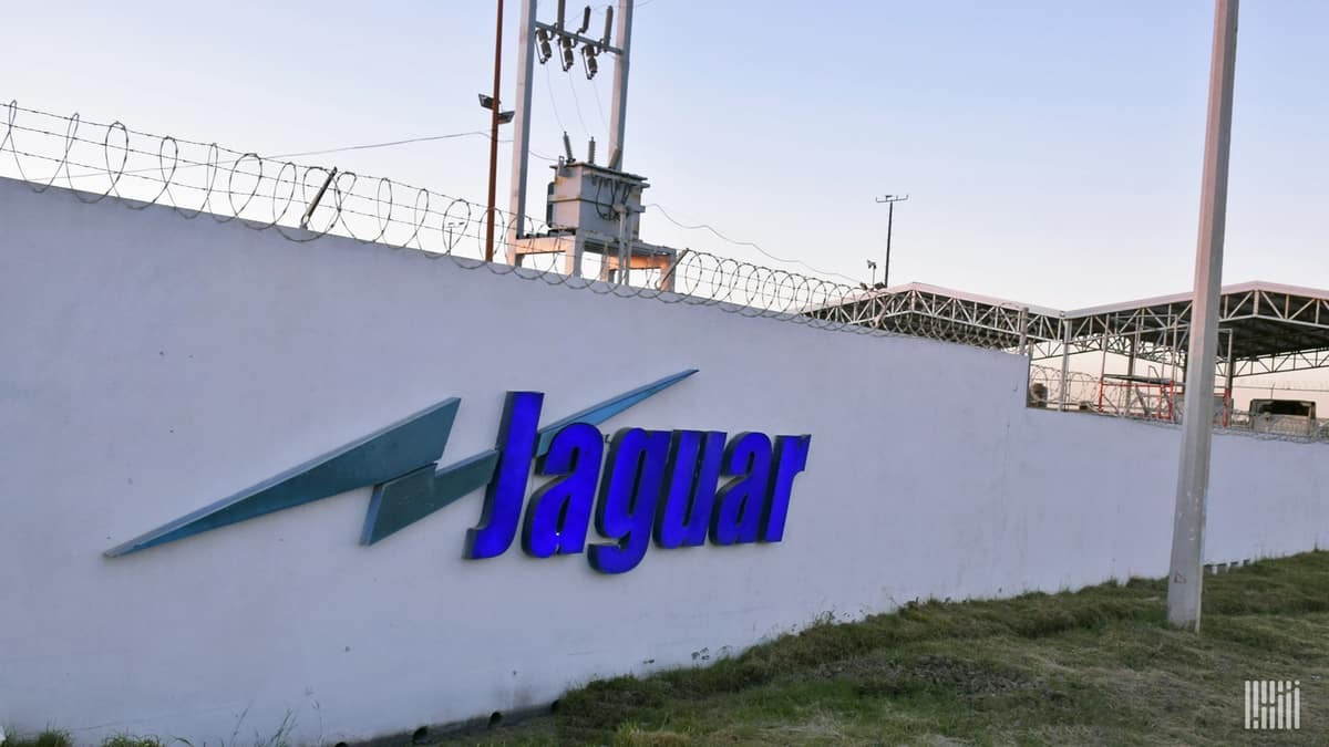 Bankrupt Celadon Group's Mexican carrier Jaguar Transportation. (Photo: FreightWaves)