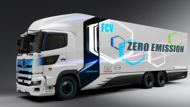 Photo of Toyota and Hino work on fuel cell heavy-duty trucks