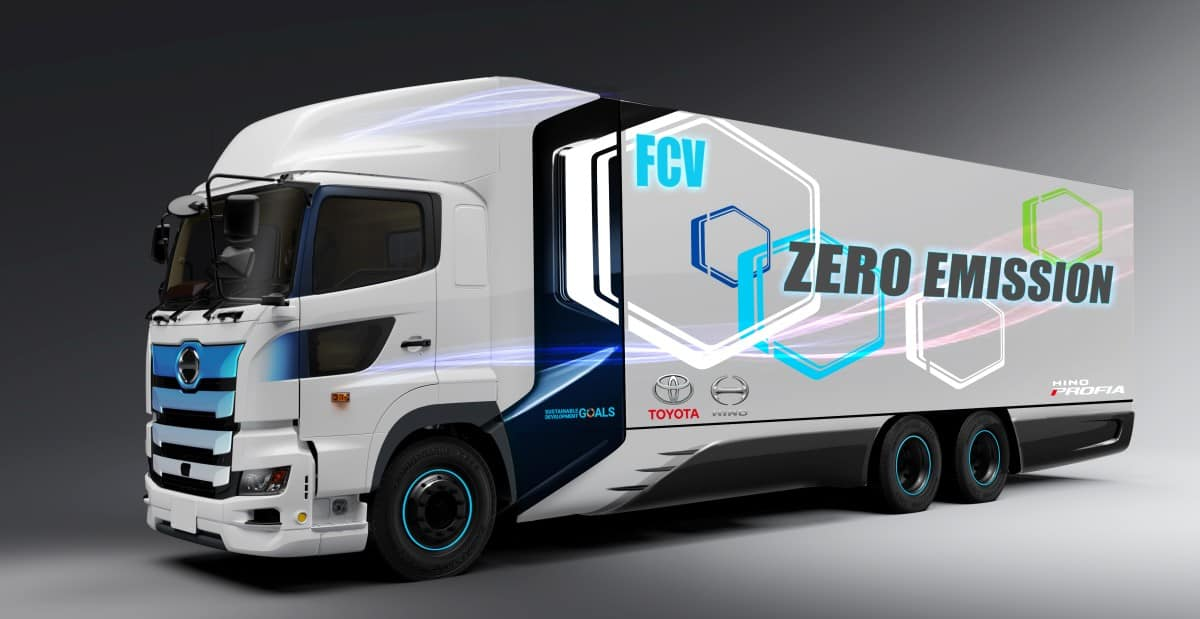 Toyota-Hino fuel cell
