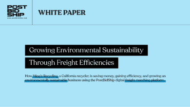 Photo of White Paper: Growing Environmental Sustainability Through Freight Efficiencies