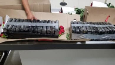 Photo of CBP grounds $1.8 million cocaine shipment at San Juan Airport