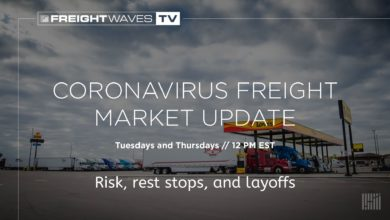 Photo of Risk, rest stops and layoffs: Coronavirus Freight Market Update