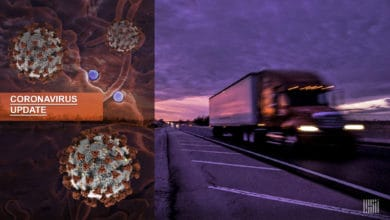Photo of Truckers risk exposure to coronavirus to deliver critical medical and food supplies