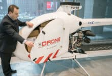 Helicopter-style cargo drone