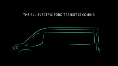 Photo of Ford officials charged about electric Transit van