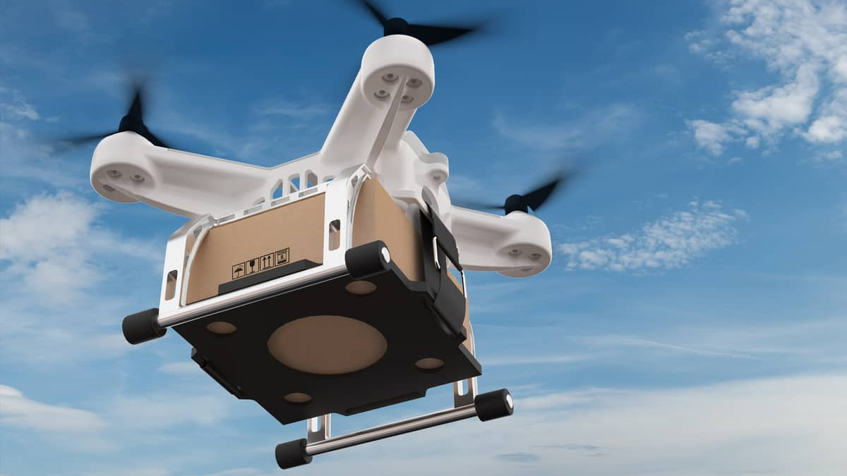 Looking for commercial feasibility of drones for last-mile delivery from a regulatory perspective (Photo: Shutterstock)