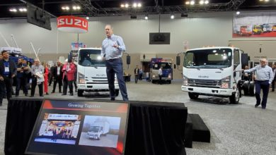 Photo of Isuzu adds new gas engines options for low-cab-forward trucks