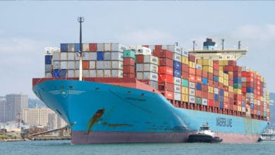 Photo of COVID-19 confirmed on Gjertrud Maersk