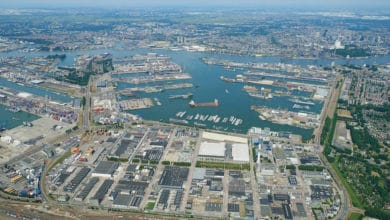 Port of Rotterdam, Netherlands.