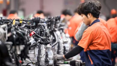China opens factories as the world closes them (Photo: Shutterstock Linhai, Zhejiang Province, China)