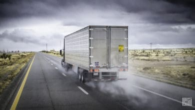 Photo of Truckers still dealing with heavy rains, high winds in several states (with forecast video)