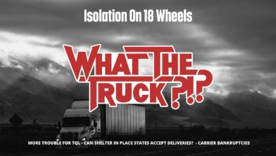 Photo of Isolation on 18 wheels: How drivers are dealing with the coronavirus (with video)