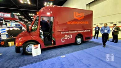 Workhorse C650 electric van