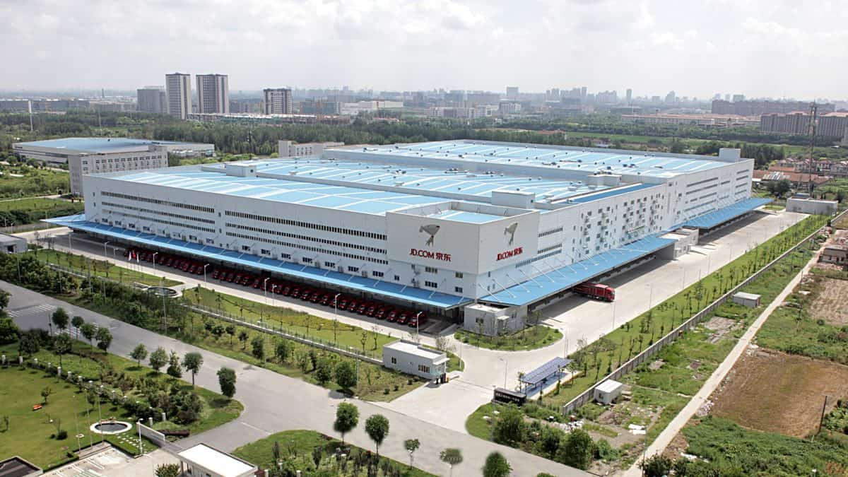 JD's highly automated Asia No. 1 facility in Shanghai