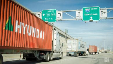 Photo of Los Angeles/Long Beach ports approve container fee to spur clean truck usage