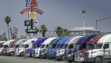 """Photo of Truck stop/rest stop update: TA says diesel volumes are """"elevated"""""""