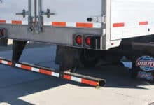 Trailer with underride guard