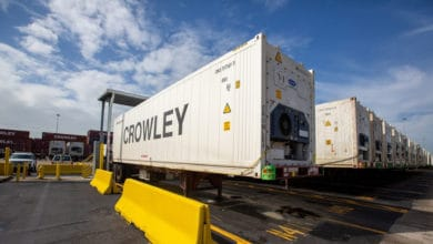 Photo of Crowley upgrades refrigerated box fleet