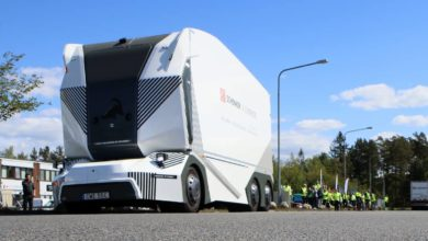 Photo of One human operator, many autonomous trucks (with video)