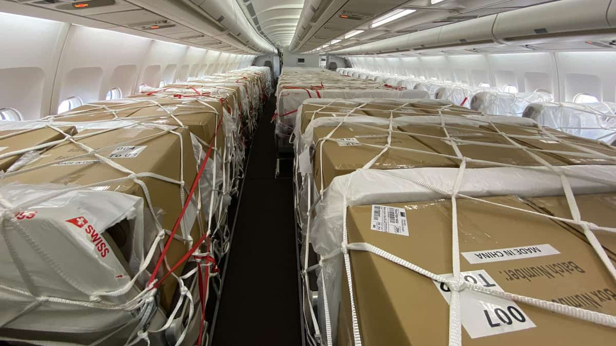 The Daily Dash: 800,000 seats filled with cargo