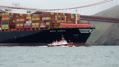 Photo of Port of Oakland welcomes its largest vessel