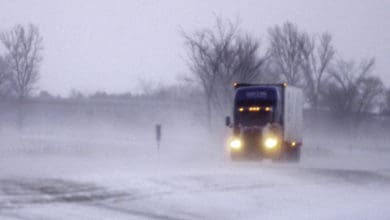Photo of Spring snow storm trucking through High Plains (with forecast video)