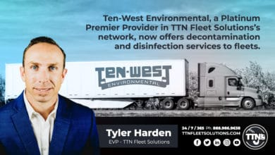 Photo of Ten-West Environmental now offering fleets decontamination services for COVID-19