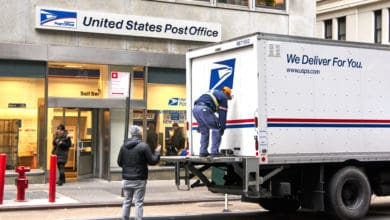 U.S. Postal Service now does not deliver to roughly half the world (Photo: Shutterstock)