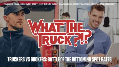Photo of Truckers vs brokers: Battle of the bottoming spot market (with video)