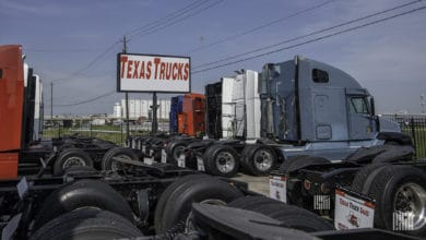 Photo of Depressed used truck prices fall lower in April