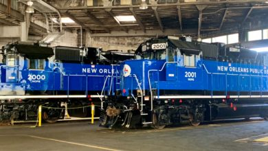 Photo of Port of New Orleans railroad upgrades locomotives