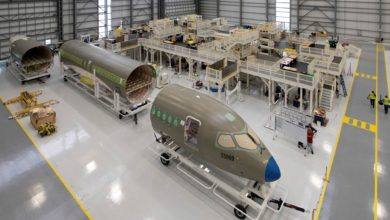 Photo of New Airbus production line for small jets opens in Alabama