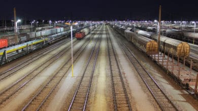 Photo of US rail volumes fell over 20% in April
