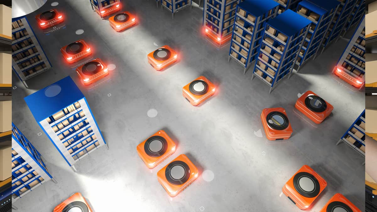 COVID-19 expected to accelerate warehouse automation (Photo: Shutterstock)
