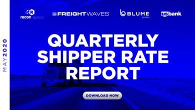 Photo of Download: Quarterly Shipper Rate Report