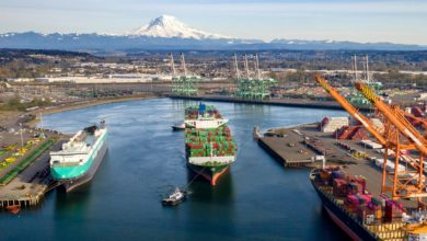 Photo of Ports of Tacoma and Seattle see 23.5% volume drop