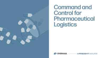 Command and Control for Pharmaceutical Logistics
