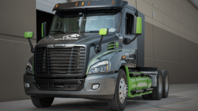 Hyliion ERX hybrid electric truck