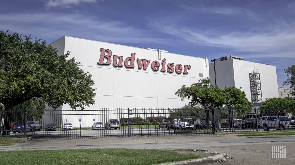 An Aneheuser-Busch brewery. Anheuser-Busch is a founding member of Together for Safer Roads.