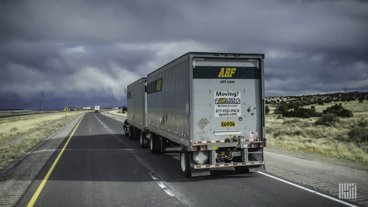 ABF Freight has also helped deliver supplies for COVID-19 relief.