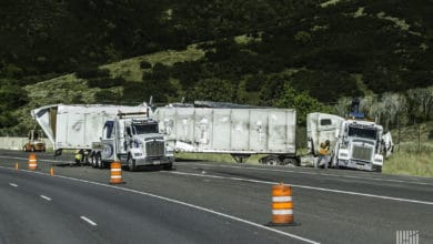 Convoy safety crashes