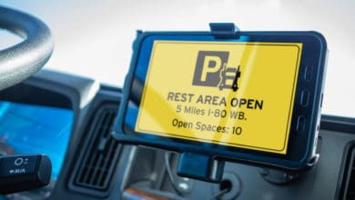Photo of Parking spot availability from two states integrated into Drivewyze system