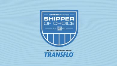 FreightWaves' Shipper of Choice Awards, sponsored by Transflo.