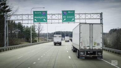 Optimizing trucking routes improves efficiency and saves money (Photo: Jim Allen/FreightWaves)