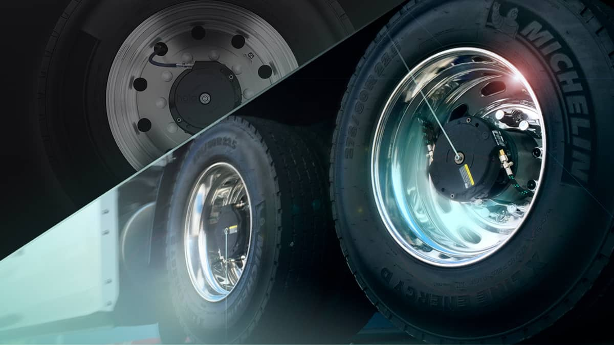 Aperia self inflating tire system