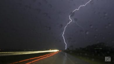 Photo of Severe storms to hit High Plains freight markets Wednesday (with forecast video)