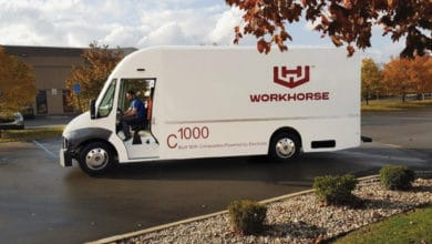 Workhorse C1000 electric delivery van