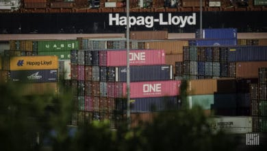 Photo of Container shipping laden with 'antiquated processes'