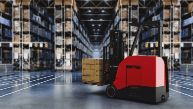Photo of This autonomous forklift isn't afraid to ask for help